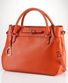 Lauren Ralph Lauren Handbag, Newbury Satchel $348.00