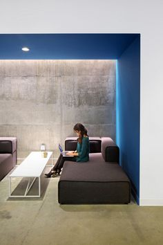 West Hollywood Headquarters #office #design #moderndesign http://www.ironageoffice.com/