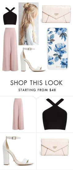 """""""atp"""" by glcot on Polyvore featuring Zimmermann, BCBGMAXAZRIA, Schutz, GUESS and Sonix"""