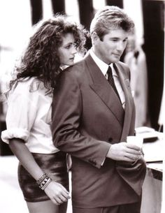 Pretty Woman. love love LOVE this movie. glad my mom introduced me to this and Runaway Bride when i was younger, i think i fell in love with Richard Gere and Julia Roberts.