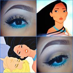 Pocahontas Inspired I love her eyebrows