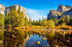 Parque Nacional Yosemite, Estados Unidos: Localizado nas montanhas de Serra Nevada, o Parque Naciona... - Shutterstock