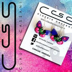 Dale alas a tu imaginación...  Hermosos zarcillos colgados de mariposa.  #FelizDíaInternacionaldelaMujer  #ClaudiaCassani  Pedidos vía web & whatsapp [ver perfil]