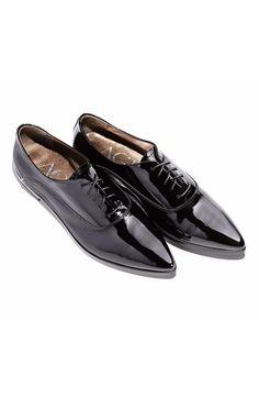 Attilio Giusti Leombruni Patent Leather Pointy Toe Oxford (Women)   Nordstrom
