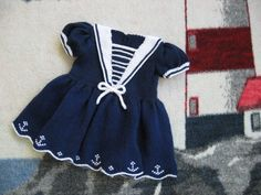 Sailor Dress pattern 1-3 years