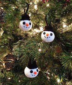 Super Quick and very easy. These little guys are great for tree ornaments or present adornments.