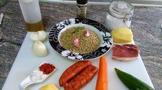 Cocinando a la Familia: Algo calentito... Lentejas estofadas con Chorizo