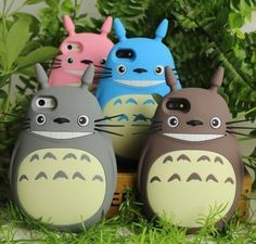 Cheap case slim, Buy Quality case spire directly from China cover Suppliers: NEW 3D Japan Fashion rubber cute Cartoon Animals Totoro Protective soft silicone case cover For Iphone 4 4g 4s