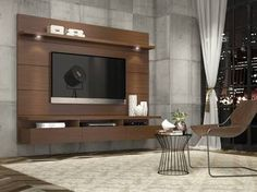 painel de tv com rack suspenso - Google Search More