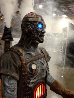 Steampunk Tendencies | Steampunk Zombie #Horror #Steampunk #Concept