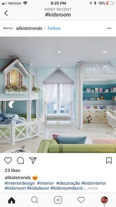 New kids room ideas for girs decoration colour ideas - Home Decor Cute Bedroom Ideas, Awesome Bedrooms, Trendy Bedroom, Cool Rooms, Kids Bedroom Ideas For Girls, Kids Girls, Baby Bedroom, Girls Bedroom, Bedroom Decor
