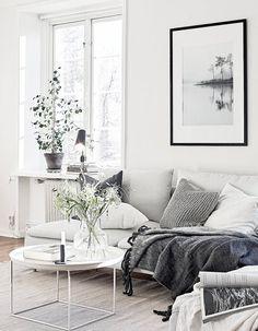 Scandinavisch wonen - een mooie binnenkijker, met tips voor een het toepassen van deze stijl in je eigen interieur.