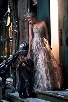 La robe de princesse de Naf Naf - one of my favorites shop...