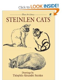 Steinlen Cats (Dover Art Library): Amazon.co.uk: Theophile-Alexandre Steinlen: Books