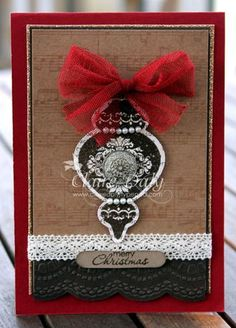 Stampin' Up! Ornament Keepsakes Vintage Bauble.... - Stampin' Up! Australia: Claire Daly, Stampin' Up! Demonstrator Melbourne Australia