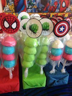 mesas de salados de superheroes - Buscar con Google