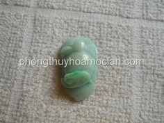 Nhện Như Ý cẩm thạch xanh - Linh Vật phong thuỷ Thegioidaquy.net