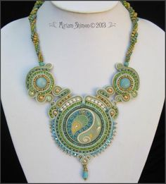 Miriam Shimon (Picasso beads from Miyuki and a cabochon from Golem Studio)