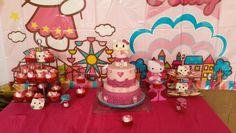 Fiesta de cumpleaños con tema de hello kitty