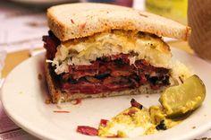 No trip to New York is complete without eating a Reuben sandwich at Katz's Deli. We deconstruct what might just be the greatest sandwich in the world.