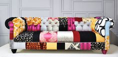 chesterfield patchwork sofa by namedesignstudio on Etsy, $2800.00