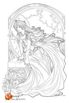 Ah, I finally got the time to finish this one, between 2 commissions It is the first drawing of Sarael which I am satisfied. I was always not sure about her desing, but now I think I got it lol. Fairy Coloring Pages, Adult Coloring Book Pages, Cool Coloring Pages, Coloring Pages To Print, Printable Coloring Pages, Coloring Books, Colorful Drawings, Colorful Pictures, Sketches