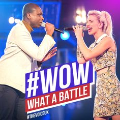 THIS. IS. AMAZING. ‪#‎TheVoiceUK‬ ‪#‎TheBattles‬