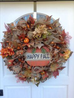 Fall wreath I made..