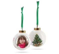 Personalized Porcelain Ball Ornament