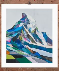 '4478M' the limited edition artwork by artist Torben Giehler. Available to buy online at Nelly Duff.