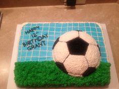 Soccer birthday cske
