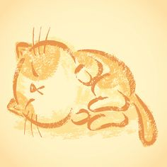 Impudent cat by Toru Sanogawa, via Behance