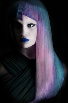 Photo by David Arnal | #Photography #Hairs #Makeup #Portrait | #Colors