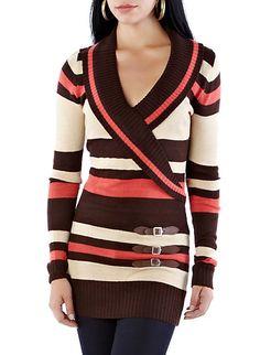 Electric Nights Sweater Tunic