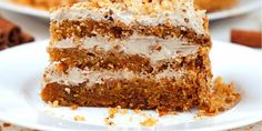 This Caramel Pecan Carrot Cake recipe has layers of fluffy filling, caramel drizzle and chopped pecans on top. It's an impressive dessert, yet easy to make. Food Cakes, Cupcake Cakes, Cupcakes, Just Desserts, Delicious Desserts, Yummy Food, Spice Cake Recipes, Pumpkin Recipes, Impressive Desserts