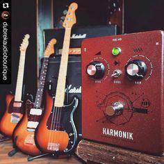 repost @dubrekaudioboutique:  The Harmonik - coming soon! #dubrekaudioboutique #fuzz #distortion #guitarfx #stompbox #effectspedal #fxpedal