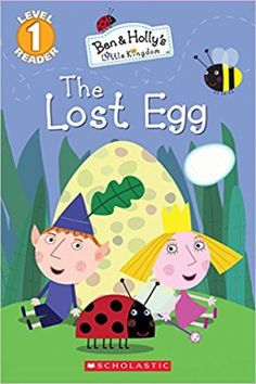 Ben and Holly's Little Kingdom: Lost Egg, The Level 1 Its Christmas Eve, Little Christmas, Elf Man, Ben And Holly, Easter Books, How To Make Toys, Learn To Fly, Christmas Crackers, Fairy Princesses