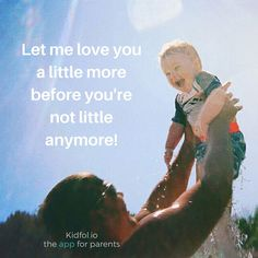 Let me love you a little more before you're not little anymore! #babypictures #love #toddlers