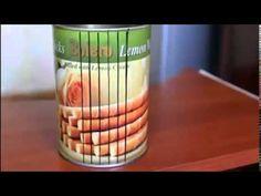 Como hacer un rallador casero de lata - YouTube