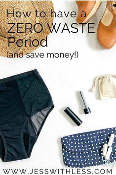 How to have a zero waste period #zerowaste #sustainable Waste Solutions, Sustainable Living, Sustainable Ideas, New Job, Ethical Fashion, Zero Waste, Sustainability, Saving Money, Eco Bathroom