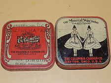 Vintage Columbia Typewriter Ribbon Tin - The Mineral Wax Twins - Clean