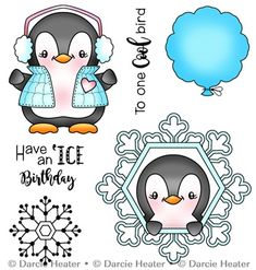 These clear photopolymer stamps come on a backing sheet measuring approximately x 4 inches. Christmas Doodles, Christmas Clipart, Christmas Fun, Christmas Graphics, Donut Friend, Penguin Drawing, January Bullet Journal, Stationery Craft, Card Sayings