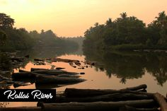 Kallayi is one of the rivers in Kerala, India. It originates in Cherikkulathur in the Western Ghats, at an altitude of 45 metres (148 ft) and is 40 km (24.9 mi) long.The river is a significant one in Kerala as it is the hub of trade. In fact, Kallai, which lies on the banks of this river, is the core center of timber trade. Kallai River is worth visiting to glimpse Kerala's rich heritage and its natural beauty. Kerala India, Tourist Spots, Rivers, Banks, Westerns, Natural Beauty, Core, Places To Visit, Explore
