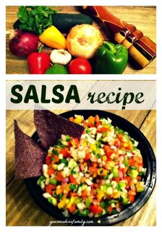 EATING HEALTHY WHOLE FOODS... pico de gallo recipe - Your Modern Family.