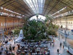Estación de tren de Atocha, Madrid