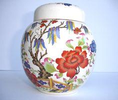 1940s Vintage James Sadler Ginger Jar Vintage by FillyGumbo