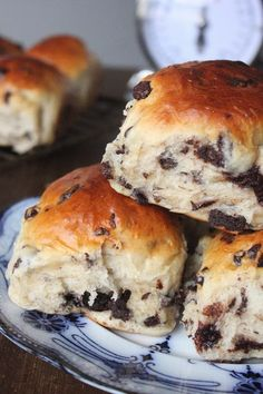 Chocolate Brioche Rolls