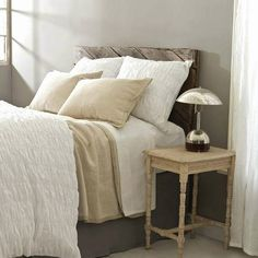 Pine Cone Hill Smocked White Duvet