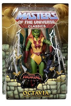MASTERS OF THE UNIVERSE CLASSICS OCTAVIA ACTION FIGURE EVIL HORDE MOTU BRAND NEW #Mattel