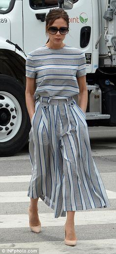 Victoria Beckham gets better with age. Fashion and entrepreneurial inspiration.
